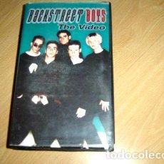 Cine: BACKSTREET BOYS THE VIDEO VHS ORIGINAL. Lote 279962083