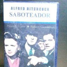 Cine: ALFRED HITCHCOCK SABOTEADOR VHS. Lote 280039418