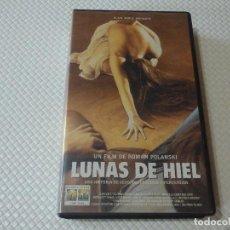 Cine: VHS .LUNAS DE HIEL.. Lote 287209163
