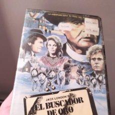 Cine: EL BUSCADOR DE ORO. ROD STEIGER. ANGIE DICKINSON. VHS. ÚNICA.PRIMERA EDICIÓN RARA.. Lote 287257258