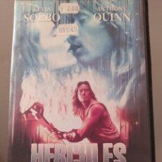 Cine: HÉRCULES Y EL CÍRCULO DE FUEGO. VHS. KEVIN SORBO. ANTHONY QUINN. MUY RARA.. Lote 287258188