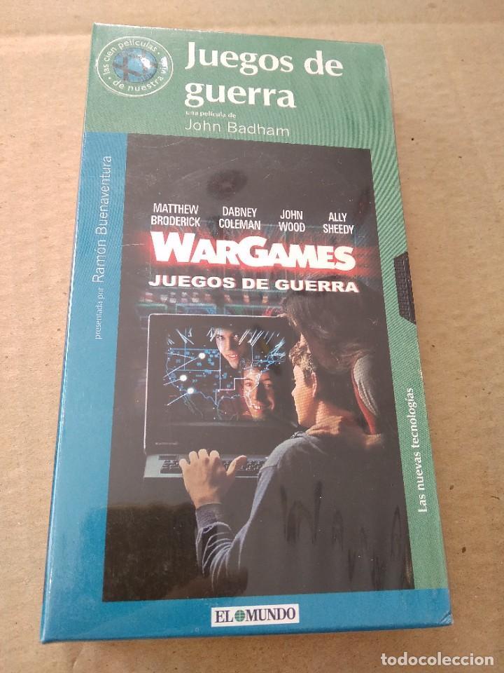 PELICULA VHS ~ JUEGOS DE GUERRA ~ , EL MUNDO , NUEVA CON PRECINTO ( AÑO 2000 ) , VER FOTOS (Cine - Películas - VHS)