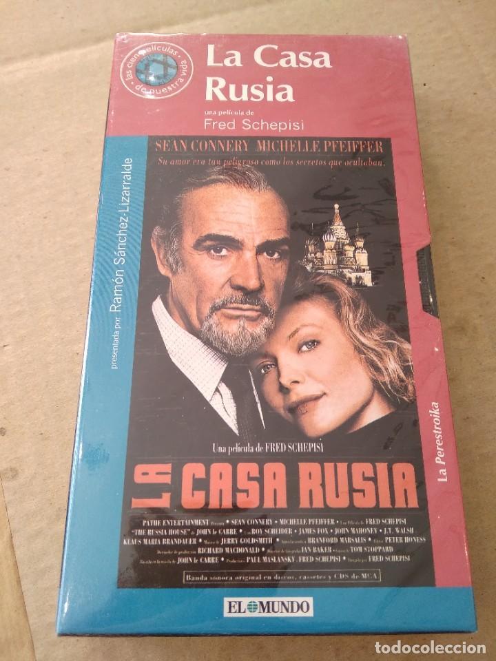 PELICULA VHS ~ LA CASA RUSIA ~ , EL MUNDO , NUEVA CON PRECINTO ( AÑO 2000 ) , VER FOTOS (Cine - Películas - VHS)