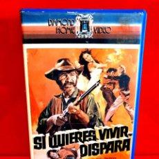 Cine: SI QUIERES VIVIR... DISPARA (1975) - SPAGHETTI WESTERN. Lote 287797203