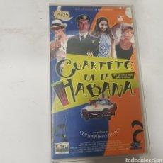 Cine: VHS 1123 CUARTETO DE LA HABANA -VHS SEGUNDA MANO. Lote 287995833