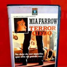 Cine: TERROR CIEGO (1971) - MIA FARROW, DOROTHY ALISON, ROBIN BAILEY - 1ª EDICIÓN. Lote 288118353