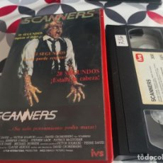 Cinema: ESPECIAL TERROR II - VHS - SCANNERS - 44. Lote 288201653
