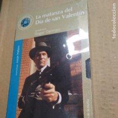 Cine: PELICULA VHS ~ LA MATANZA DEL DIA DE SAN VALENTIN~EL MUNDO , NUEVA CON PRECINTO( AÑO 2000 )VER FOTOS. Lote 288337898