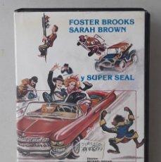 Cine: SUPER NEMO (SUPER SEAL)(MICHAEL DUGAN)(1976)(VHS) - USADO (PROCEDENTE DE VIDEOCLUB). Lote 288585798