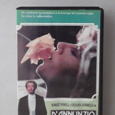 Cine: D'ANNUNZIO (ROBERT POWELL)(1986)(VHS) - USADO (PROCEDENTE DE VIDEOCLUB). Lote 288585808