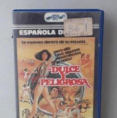 Cine: DULCE Y PELIGROSA (LOVELY BUT DEADLY)(1981)(VHS) - USADO (PROCEDENTE DE VIDEOCLUB). Lote 288585858