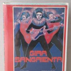 Cine: GIRA SANGRIENTA (TERROR ON TOUR)(1980)(VHS) - USADO (PROCEDENTE DE VIDEOCLUB). Lote 288586393
