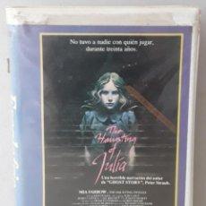 Cine: ESCALOFRIO (CIRCULO DE LA MUERTE)(MIA FARROW)(1977)(VHS) - USADO (PROCEDENTE DE VIDEOCLUB). Lote 288586558