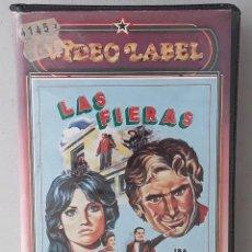 Cine: LAS FIERAS (LE BELVE)(1971)(VHS) - USADO (PROCEDENTE DE VIDEOCLUB). Lote 288586588