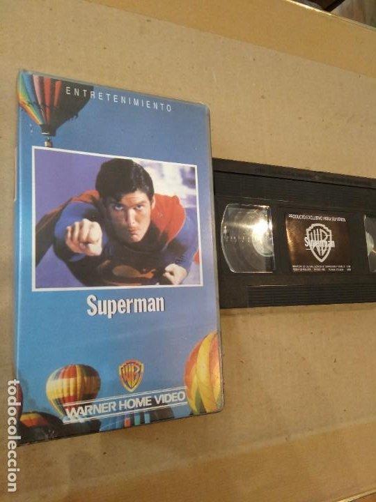 PELICULA VHS ~ SUPERMAN ~ ( AÑO 1988 ) , VER FOTOS (Cine - Películas - VHS)