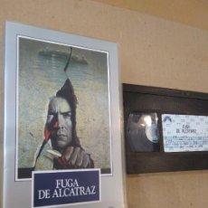 Cine: PELICULA VHS ~ FUGA DE ALCATRAZ ~ ( AÑO 1990 ) , VER FOTOS. Lote 288607618