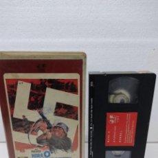 Cine: HORA 0 . CERO . OPERACION ROMMEL - JACK PALANCE, ALBERTO DE MENDOZA, LEON KLIMOVSK.VHS VIDEO CLUB. Lote 288684188