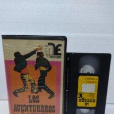 Cine: LOS AVENTUREROS - ROBERT WIDMARK VHS VIDEO CLUB. Lote 288687098