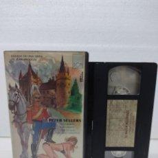 Cine: EL MAYOR MUJERIEGO VHS ORIGINAL / PETER SELLERS. Lote 288690788