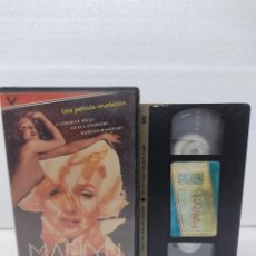 Cine: MARILYN LA HISTORIA JAMAS CONTADA.VIDEO CLUB VHS. Lote 288691268