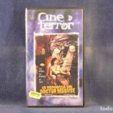 Cine: LA VENGANZA DEL DOCTOR MABUSE - VHS. Lote 288715163