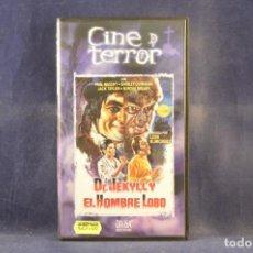 Cine: DR. JEKYLL Y EL HOMBRE LOBO - VHS. Lote 288715608