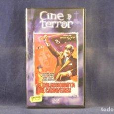 Cine: EL COLECCIONISTA DE CADAVERES - VHS. Lote 288716238