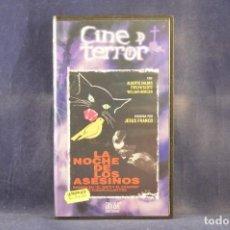 Cine: LA NOCHE DE LOS ASESINOS - VHS. Lote 288716963