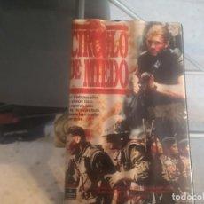 Cinema: VHS - CIRCULO DEL MIED - 8. Lote 288988283