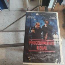 Cinema: VHS - PROCEDIMIENTO LEGAL - 87. Lote 288999548