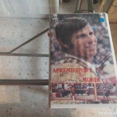 Cine: VHS - APRENDIENDO A MORIR - 104. Lote 289001358