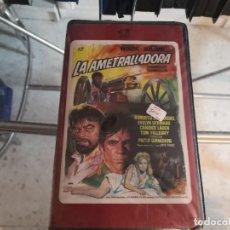 Cine: VHS - LA AMETRALLADORA - R113. Lote 289002018