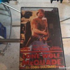 Cine: VHS - LOBO SOLITARIO - 115. Lote 289002088
