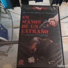 Cine: VHS - EN AMNOS D EUN EXTRAÑO -118. Lote 289002283