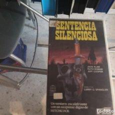 Cine: VHS - SENTAENCIA SILENCIOSA - 120. Lote 289002378