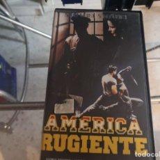 Cine: VHS - AMERICA RUGIENTE - 126. Lote 289002623