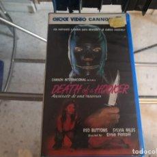 Cine: VHS - ASESINATO PROSTITUTA . - 128. Lote 289002708