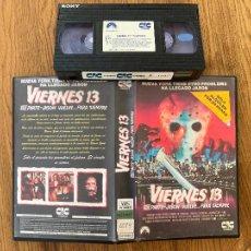 Cine: VHS - VIERNES 13 VIII PARTE . JASON VUELVE PARA SIEMPRE - CAJA GRANDE - DIFICIL. Lote 289258828