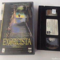 Cine: EL EXORCISTA III VHS CAJA GRANDE CBS EDICION VIDEOCLUB TERROR. Lote 289271073