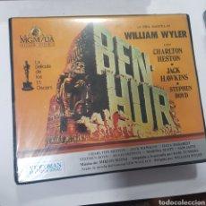 Cine: VHS 1589 BEN-HUR -VHS SEGUNDA MANO. Lote 289823303