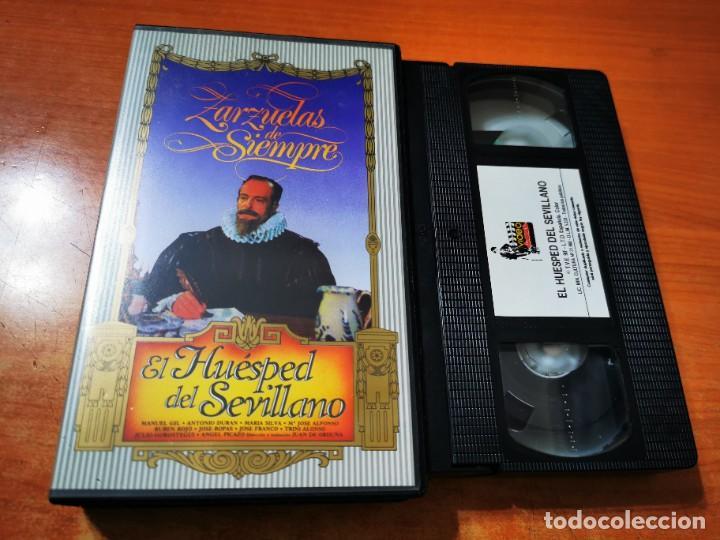 HUESPED DEL SEVILLANO VHS ESPAÑA ZARZUELA MANUEL GIL ANTONIO DURAN MARIA SILVA Mª JOSE ALONSO (Cine - Películas - VHS)