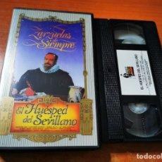 Cine: HUESPED DEL SEVILLANO VHS ESPAÑA ZARZUELA MANUEL GIL ANTONIO DURAN MARIA SILVA Mª JOSE ALONSO. Lote 289891683