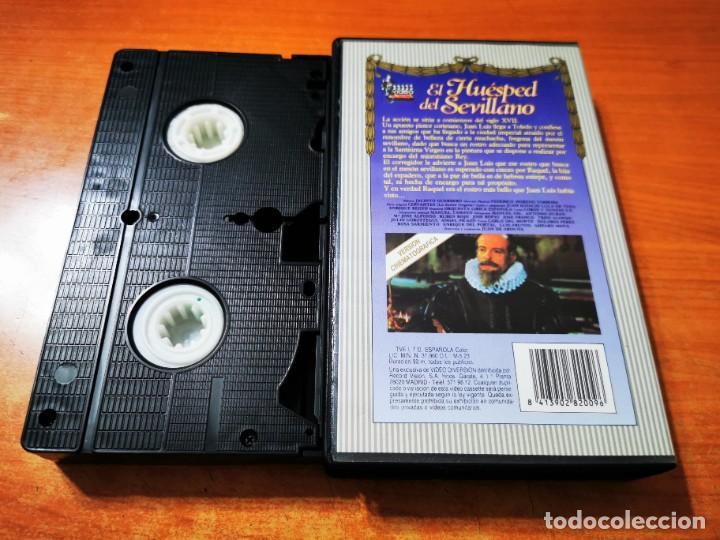 Cine: HUESPED DEL SEVILLANO VHS ESPAÑA ZARZUELA MANUEL GIL ANTONIO DURAN MARIA SILVA Mª JOSE ALONSO - Foto 2 - 289891683