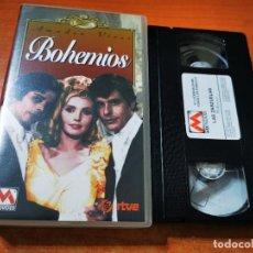 Cine: BOHEMIOS VHS 1996 ESPAÑA OPERA AMADEO VIVES JULIAN MATEOS ANTONIO DURAN JOSE FRANCO. Lote 289892893