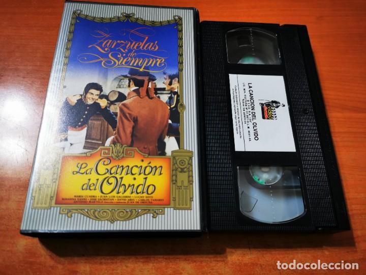 LA CANCION DEL OLVIDO VHS 1989 ESPAÑA ZARZUELA MARIA CUADRA JUAN LUIS GALLARDO LUCHY SOTO (Cine - Películas - VHS)