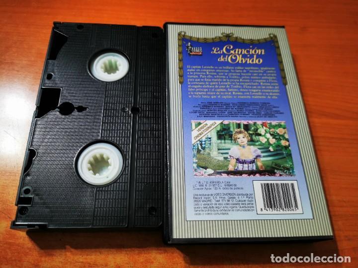 Cine: LA CANCION DEL OLVIDO VHS 1989 ESPAÑA ZARZUELA MARIA CUADRA JUAN LUIS GALLARDO LUCHY SOTO - Foto 2 - 289893568