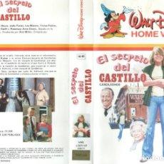 Cine: VHS - EL SECRETO DEL CASTILLO - DISNEY - 1ª EDICION. Lote 289902563