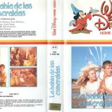 Cine: VHS - LA BAHIA DE LAS ESMERALDAS - DISNEY - 1ª EDICION. Lote 289902798