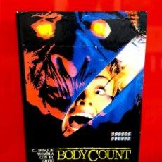 Cine: BODY COUNT (1987) - RUGGERO DEODATO - BRUCE PENHALL, MIMSY FARMER - RECORD VISION. Lote 289926353