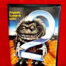Cine: CRITTERS 2 (1988) - THE MAIN COURSE - 1ª EDICIÓN RCA. Lote 289927378